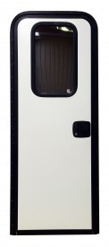 RV Radius top Door DR8000 Black Trim