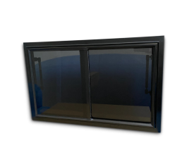 Australian manufactured PUSHOUT window for Caravan, Motorhome, Horse Float & Camper Trailer